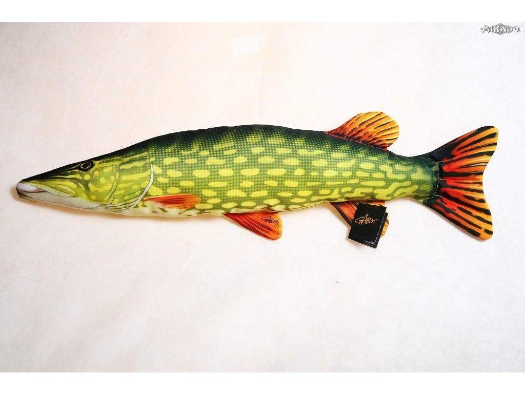 Štika obecná (Pike) - 80 cm polštářek