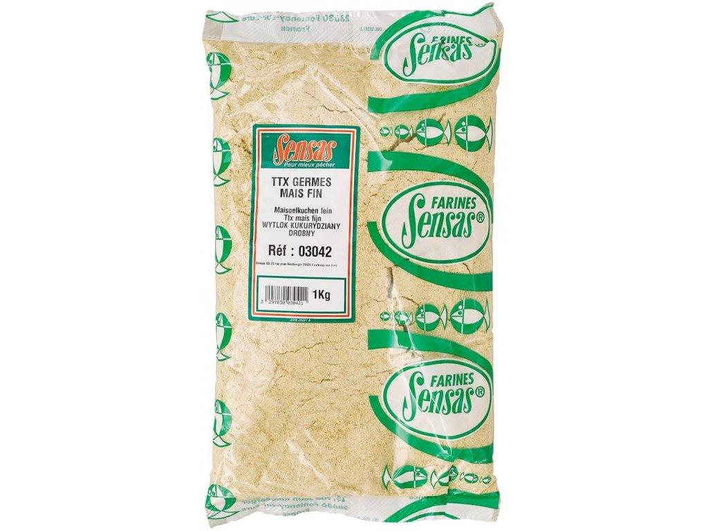 SENSAS TTX Mais Fin (kukuřičná směs-jemná) 1kg