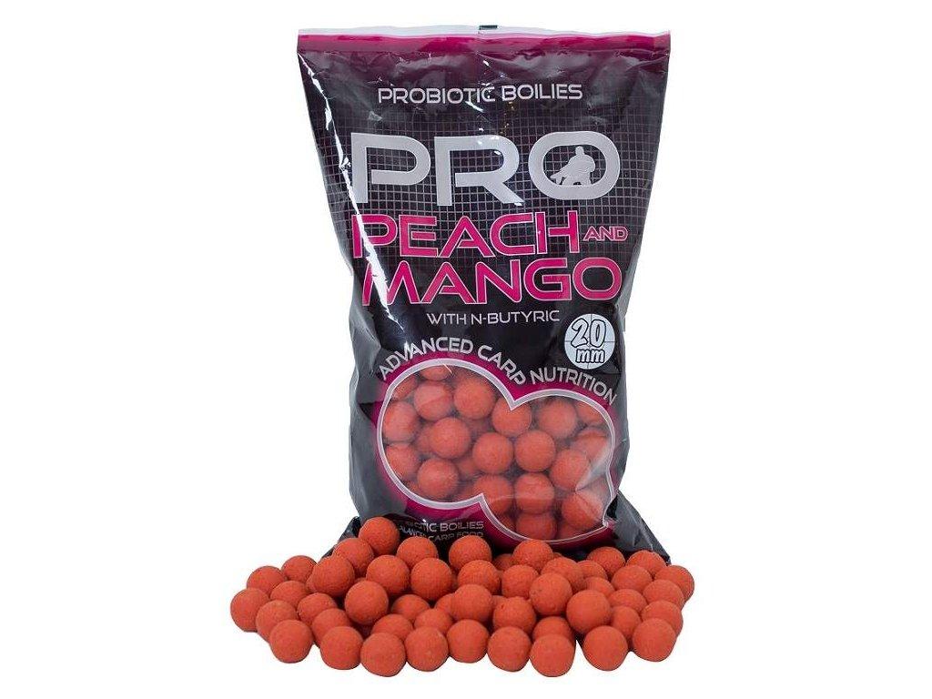 STARBAITS Probiotic bolies Peach mango 20mm 1kg