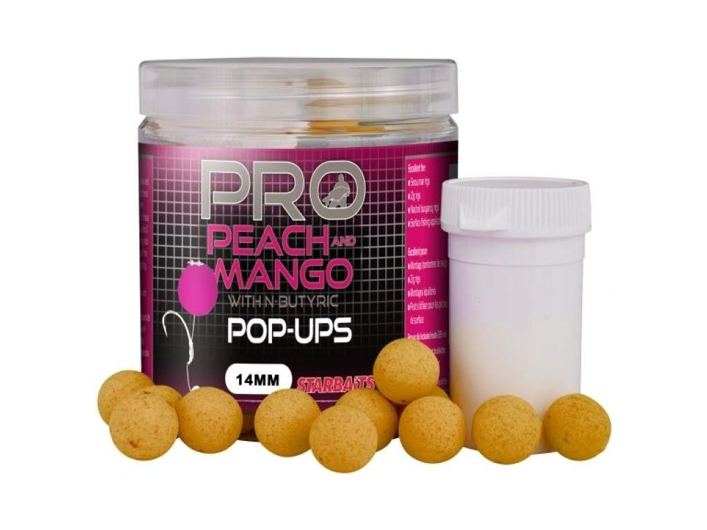 STARBAITS Pop Up Probiotic 14mm Peach Mango