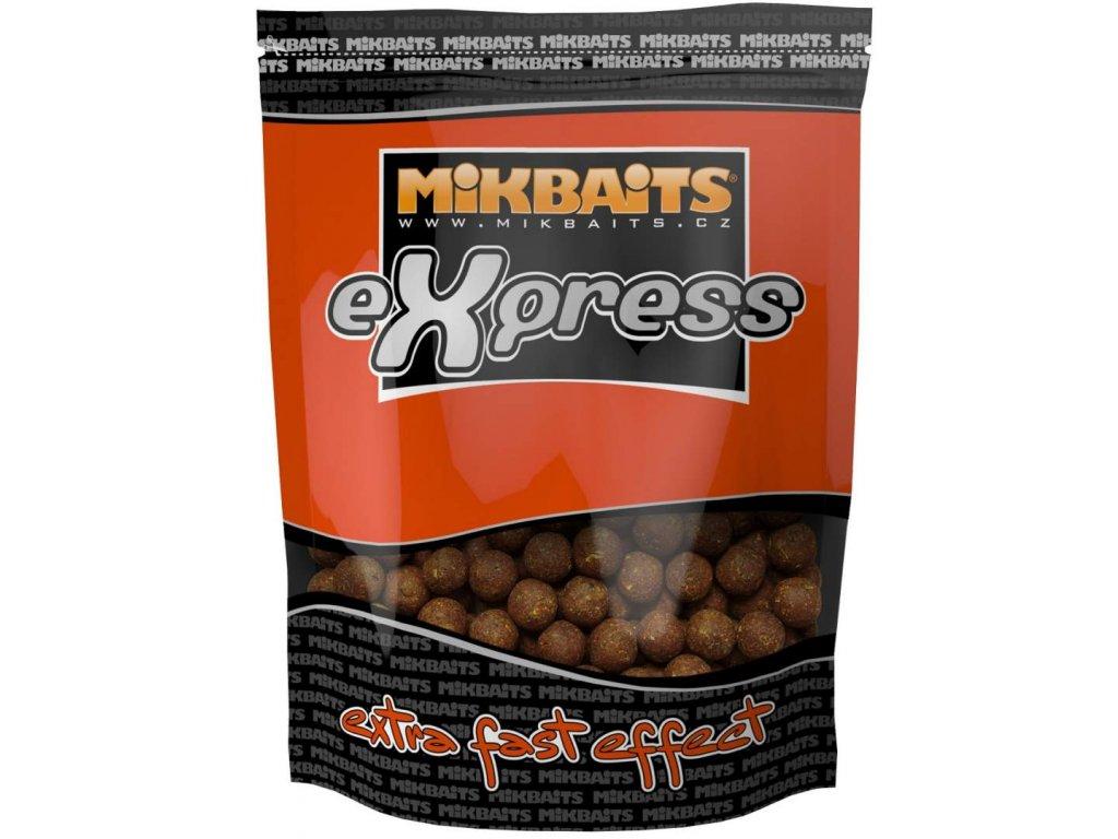 MIKBAITS Express Boilie 1kg 18mm česnek