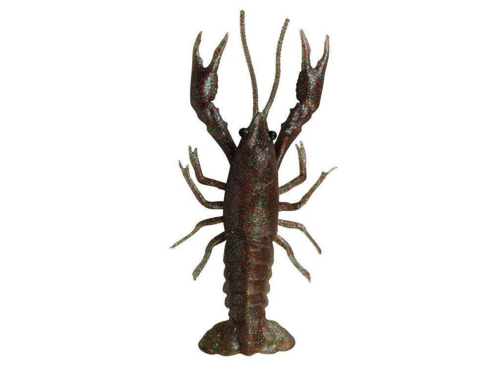 Savage GEAR G LB 3D Crayfish 8cm 4g 4pcs Black Brown