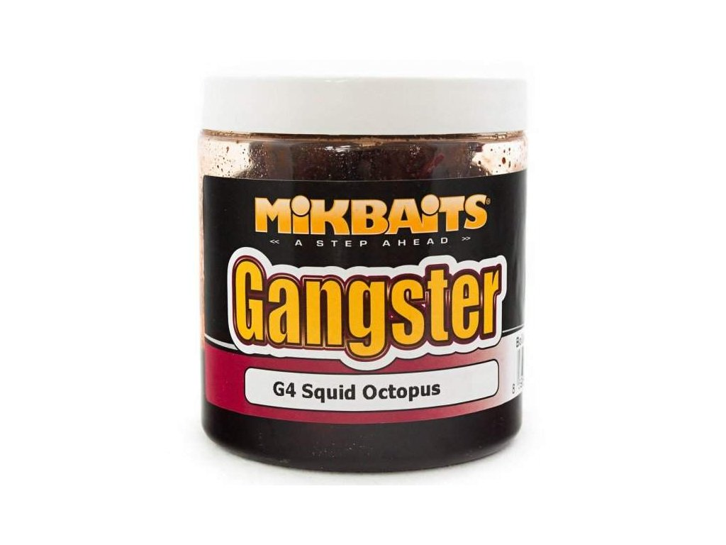 těsto Mikbaits Ganster 200g G4 Squid Octopus