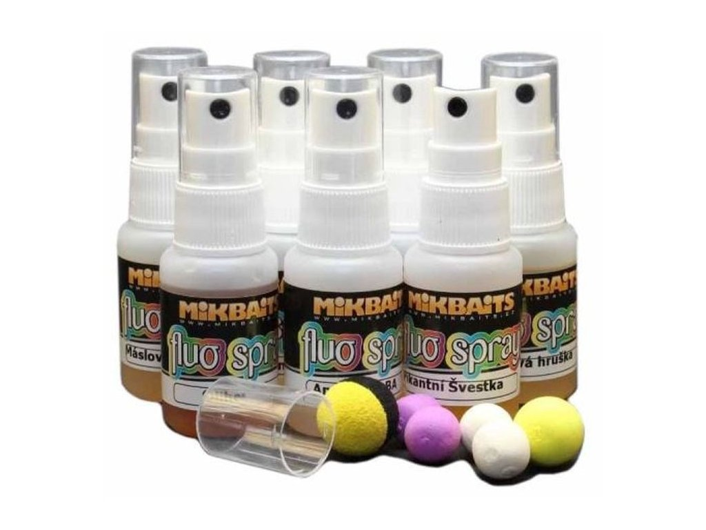MIKBAITS Pop-Up Fluo spray 30ml