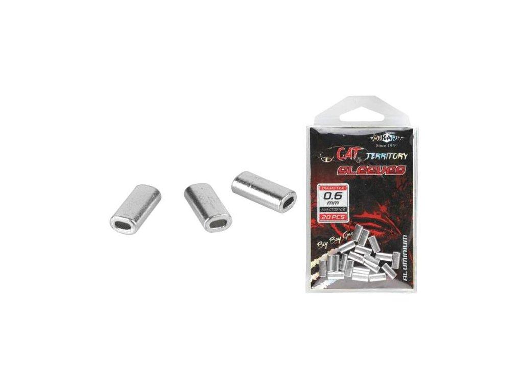 MIKADO zamačkávací trubičky ALU 1,2mm 20ks