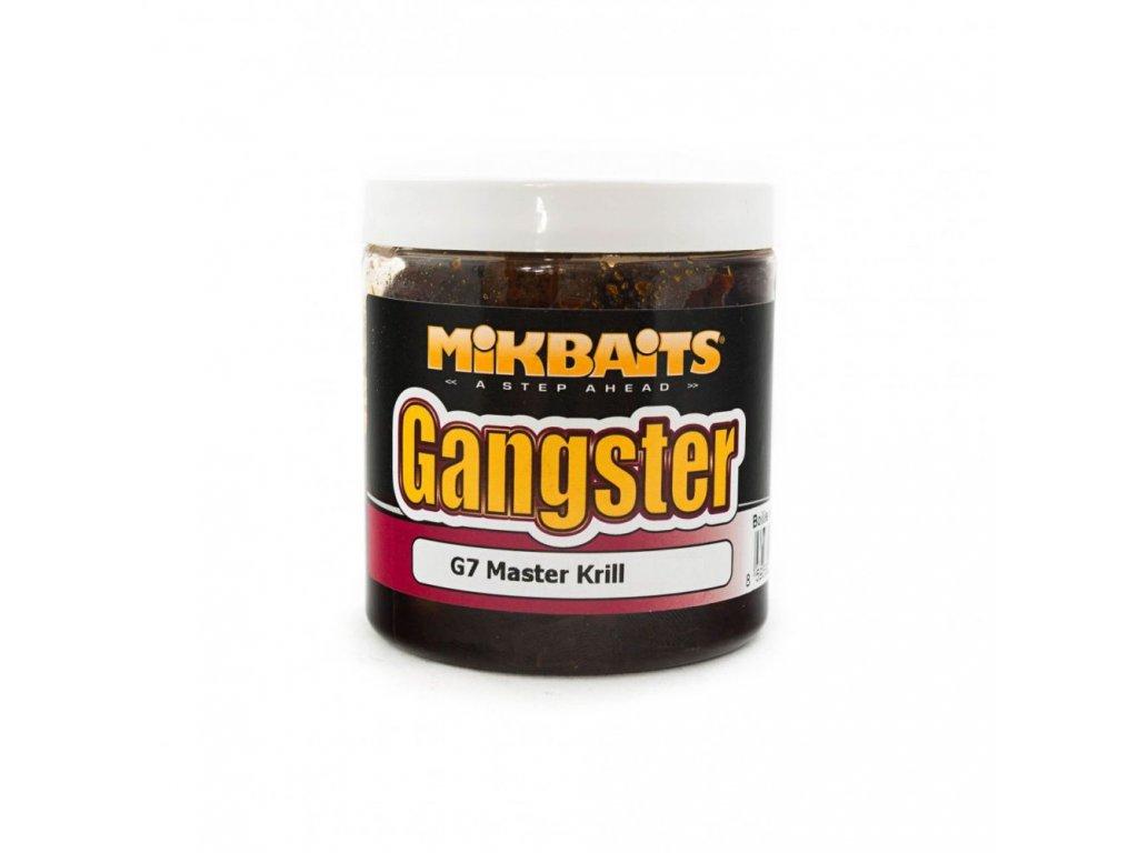 MIKBAITS Boilie v dipu Gangster G7 250ml 20mm Master Krill