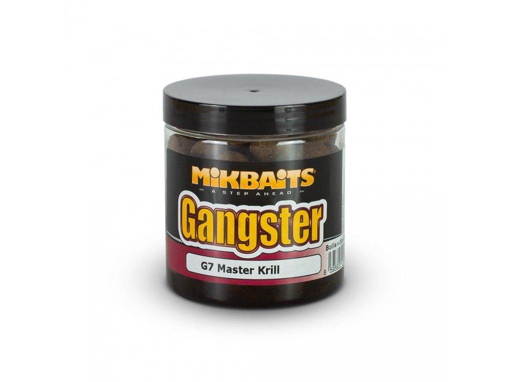 MIKBAITS Gangster boilie v dipu 24mm Master Krill