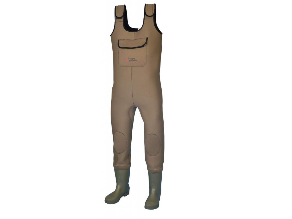 Shakespeare SIGMA NEOP CHEST WADER CLEAT SOLE prsačky neoprenové