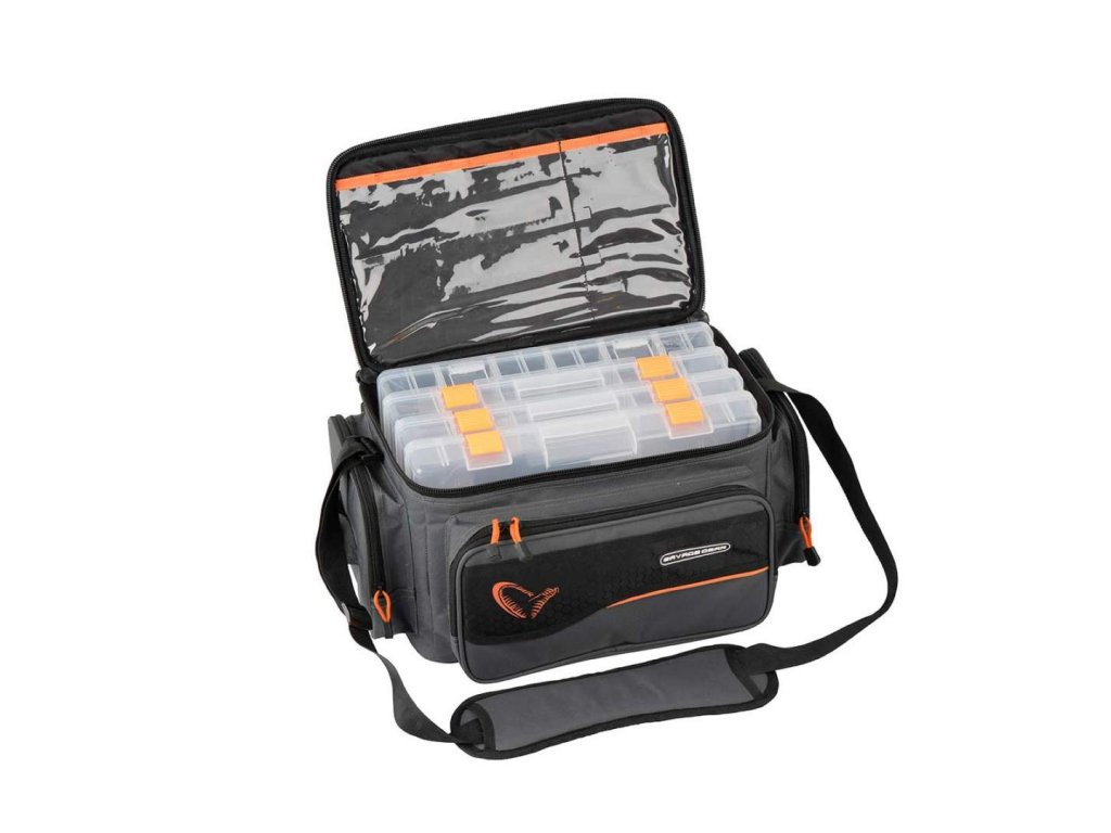 Taška Savage Gear System Box Bag S 3 Boxes & PP Bags