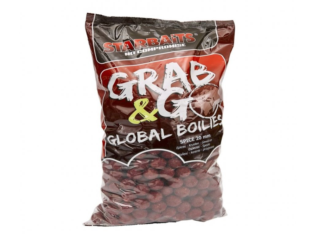 STARBAITS Global Boilies 10kg 20mm