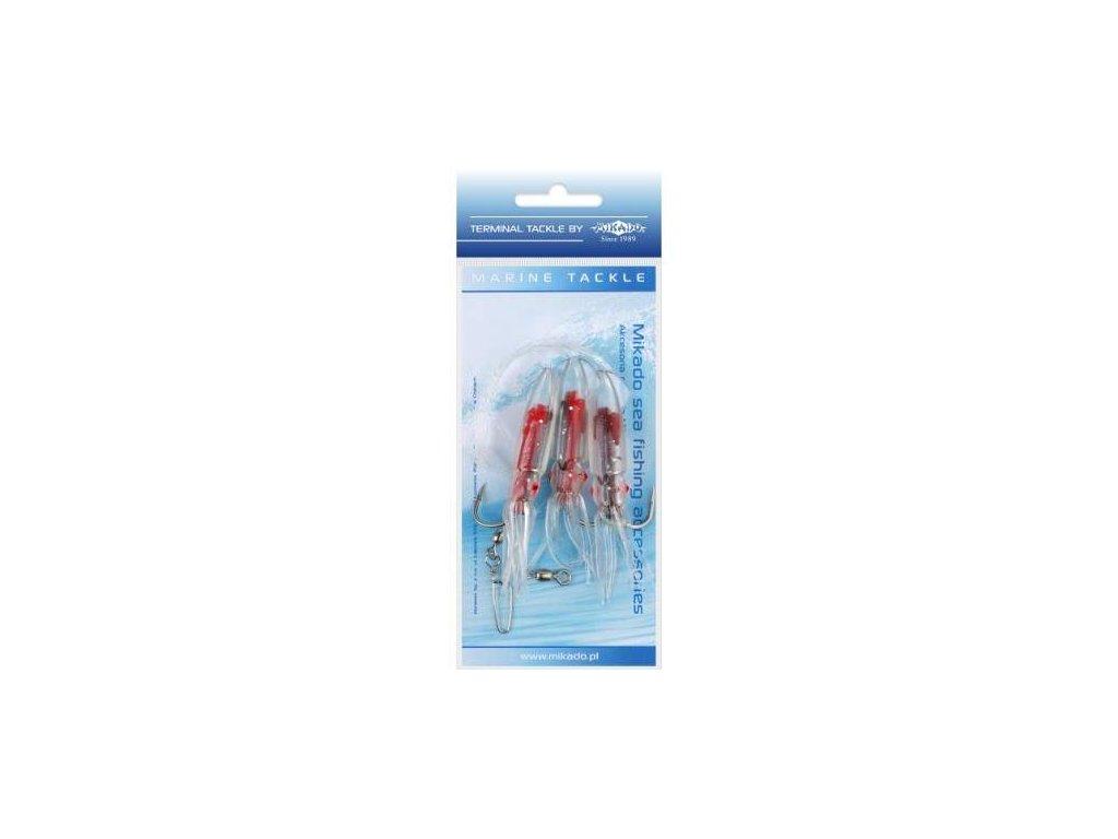 MIKADO Squid Rig 7,5cm 4/0 3ks