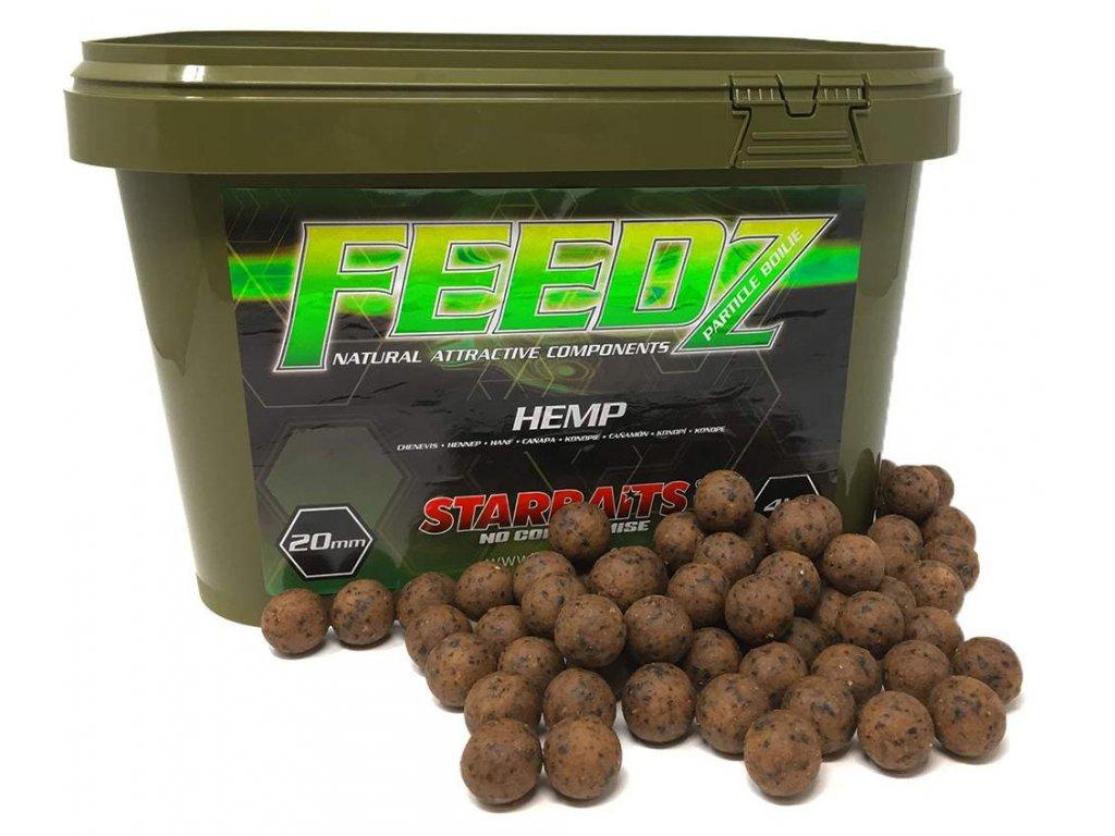 STARBAITS Feeds Boilies Hemp 20mm 4kg