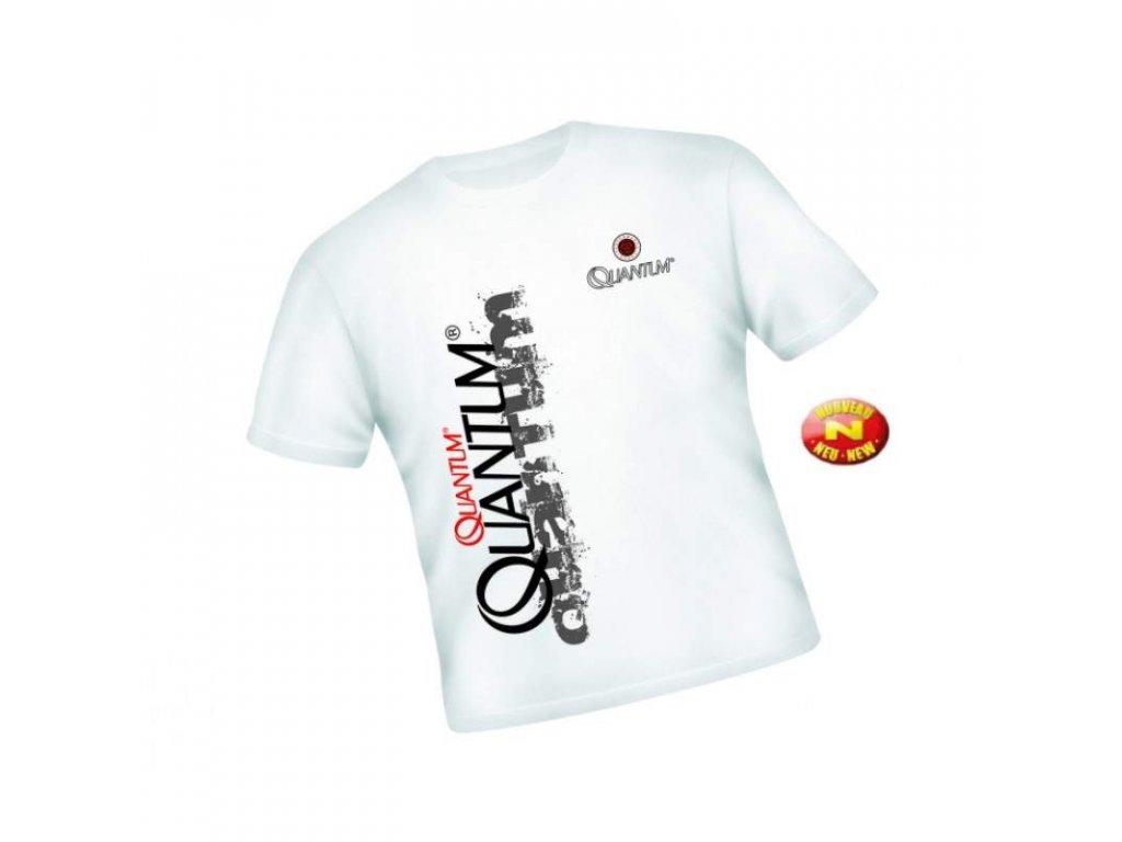 QUANTUM Specialist triko bílé