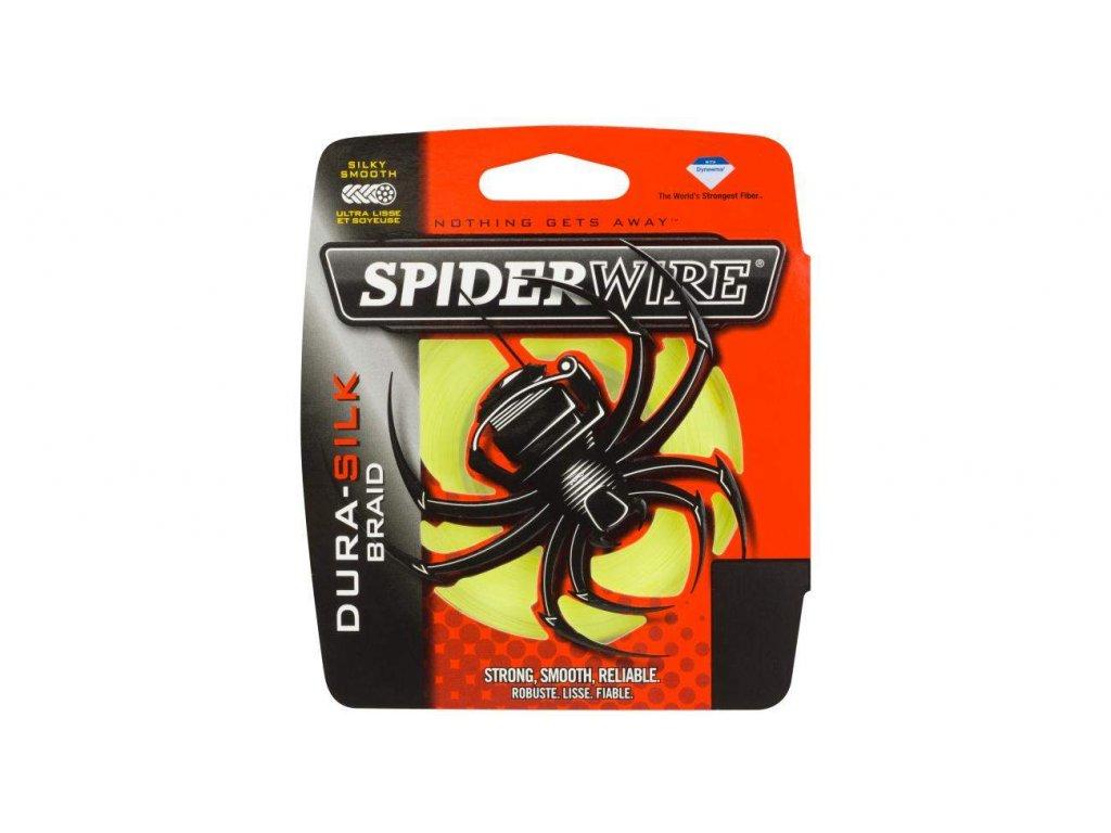 SPIDERWIRE Dura Silk Braid 137m Yellow