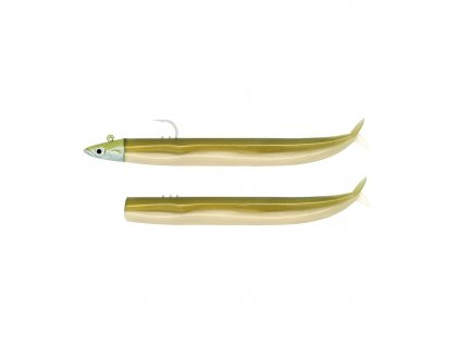 FIIISH Crazy Sand Eel 100 Combo Shore 10cm 5g Gold/Gold body