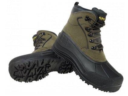 ALBASTAR Zimní kotníkové boty