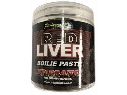STARBAITS Red Liver Obalovací pasta 250g