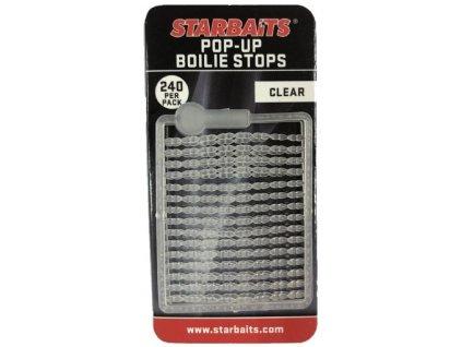 STARBAIT Bait Stopper Pop UP Fluo Clear 240ks