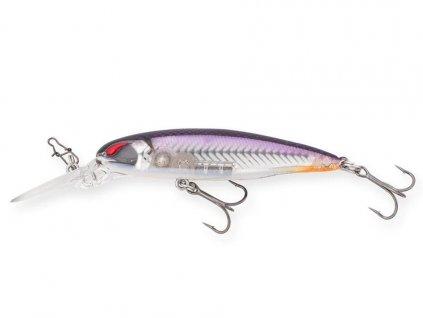 NORIES Laydown Minnow Deep JW 6,6cm Purple Wakasagi