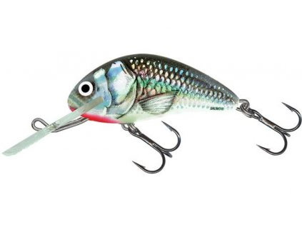 SALMO Hornet Floating 9cm Holographic Grey Shiner