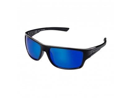 BERKLEY B11 Sunglasses Black/Gray/Blue Revo