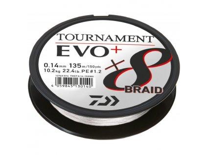 DAIWA Tournament X8 Braid Evo+ 135m White