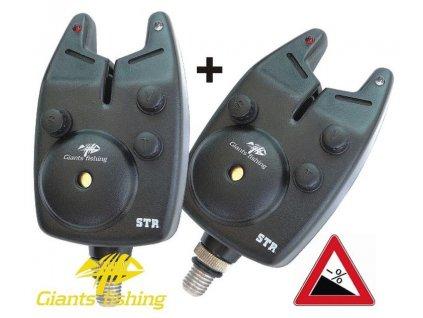 GIANTS FISHING Hlásič Bite Alarm STR (12V baterie) AKCE 1+1