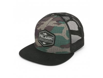 PELAGIC Alpha Snapback – Fish Camo