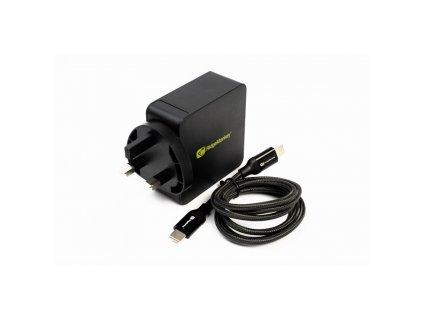 RidgeMonkey: Nabíječka Vault 60W USB-C Power Delivery Mains Adaptor