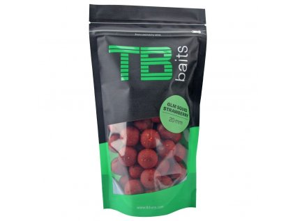 TB BAITS Boilie GLM Squid Strawberry 250g