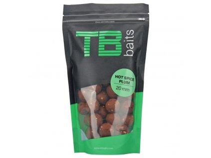 TB BAITS Boilie Hot Spice Plum 250g