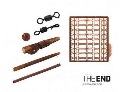 DELPHIN Set kaprařských montáží THE END 10ks
