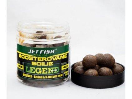 JET FISH Boosterované boilie 250ml 20mm Bioliver/Ananas/N-Butyric