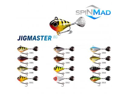 SPINMAD Jigmaster 8g