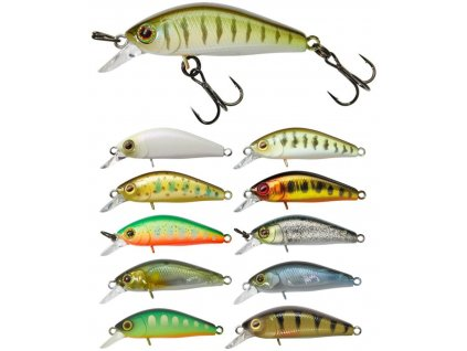Wobler ILLEX Diving Chubby Minnow 3,5cm TRUTELLE​