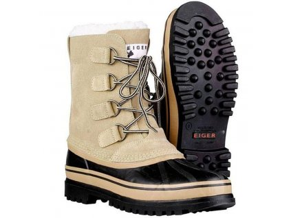boty Eiger Yukon Light Brown 12/47