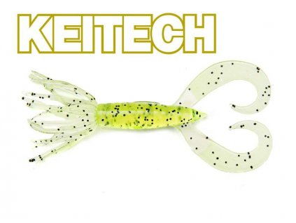 KEITECH Little Spider 3 7,2 cm Chartreuse PP​