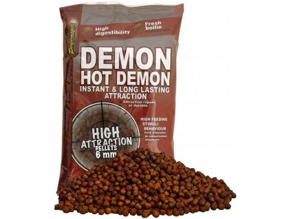 STARBAITS Hot Demon Pelety 6mm 700g
