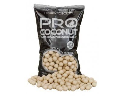 STARBAITS Probiotic Boilies  coconut 14mm 1kg