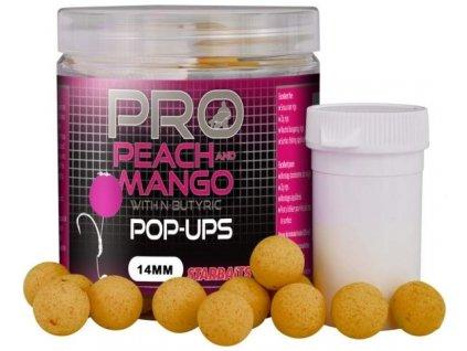 STARBAITS Pop Up Probiotic Peach Mango 14mm 60g