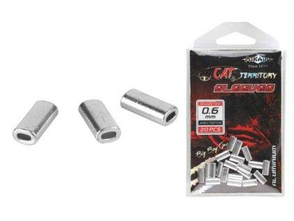 zamačkávací trubičky Mikado ALU 1.2mm 20 ks