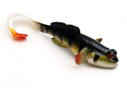 "nástraha Fox Rage Grondel twist 10cm / 4"" Perch BU"