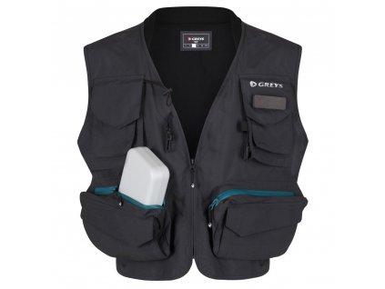 Vesta Greys Fishing Vest M