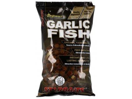 STARBAITS GARLIC FISH 1kg 14mm