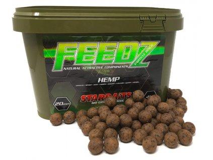STARBAITS FEEDS kyblík Hemp 20mm 4kg