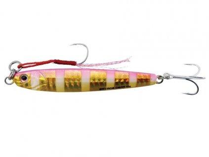 Pilker Savage Gear 3D slim minnow 10g 5,9cm Gold pink Zebra