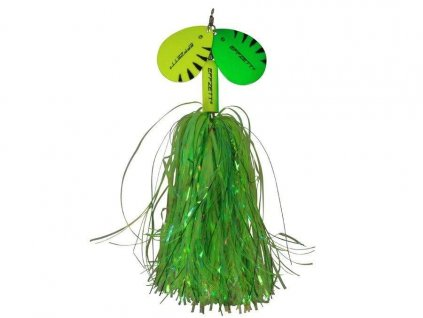 DAM D-Effzett Pike Rattlin Spinner 65g 23cm Fluo Yellow/Green