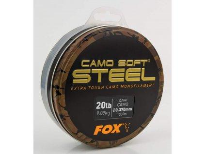 Fox vlasec Edges Soft Steel Dark Camo