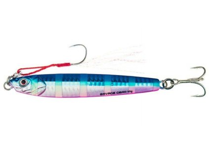 Pilker Savage Gear 3D slim minnow 100g 12,5 cm Blue pink Zebra