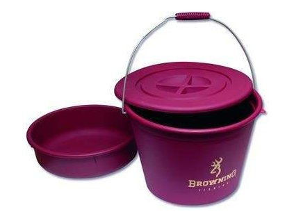 Browning Bucket With lid and bowl 30l kybl